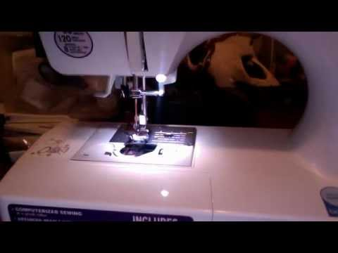 ce5000 prw sewing machine