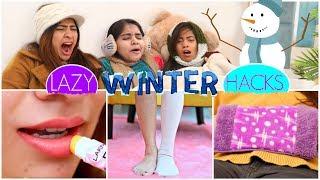 6 LAZY WINTER HACKS | #LifeSaving #Skincare #Beauty #Fun #Anaysa