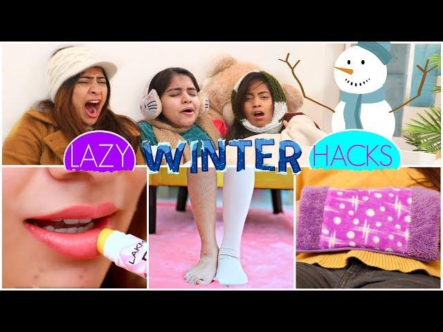 6 LAZY WINTER HACKS   #LifeSaving #Skincare #Beauty #Fun #Anaysa
