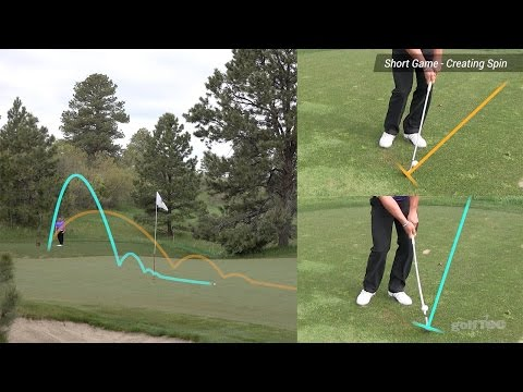 Short Game Golf Tips: Add spin with chip shots and pitch shots