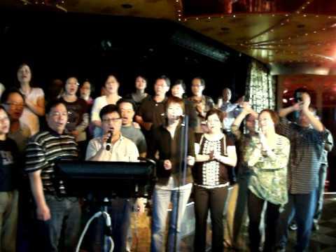 SMCC 聖馬利亞堂 海外舊生 Oct8-11-2010 cruise Karaoke