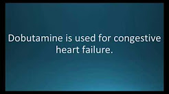 How to pronounce dobutamine (Dobutrex) (Memorizing Pharmacology Flashcard)