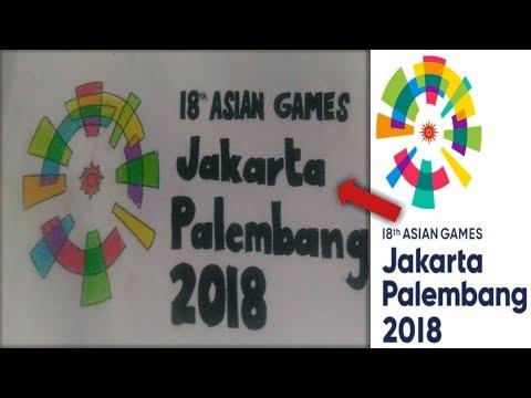 Speed Draw Logo ASIAN GAMES 2018