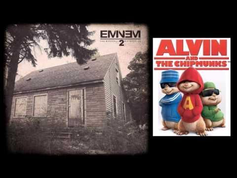Evil Twin   @Eminem #themarshallmatherslp2 Alivin' & The Chipmunks