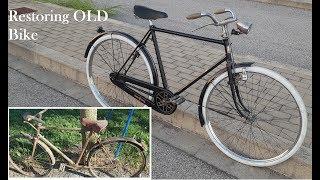Restauro Bici Epoca Bianchi Zaffiro 1950