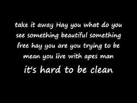 Marilyn Manson - The Beautiful People lyrics