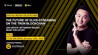 The Future of Dlive-Streaming on The TRON Blockchain