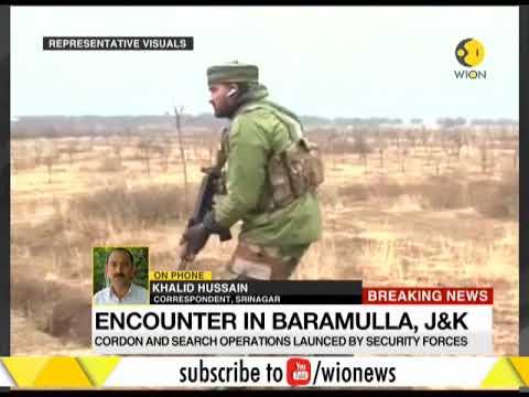 India News: Top JeM terrorist killed in encounter in J&K's Baramulla