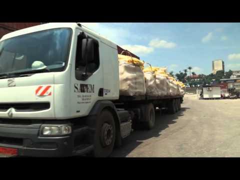 Carte Video Cameroun: PORT DE DOUALA
