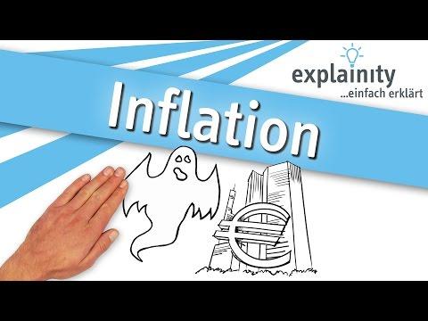 Inflation einfach erklärt (explainity® Erklärvideo)