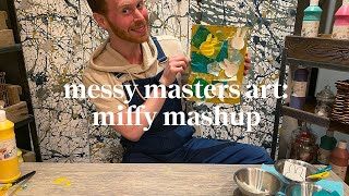 Miffy mash up | Messy Masters Art Class | Learn at Home with Maggie & Rose
