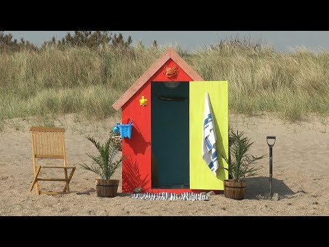 This Beach Hut has a HIDDEN SECRET