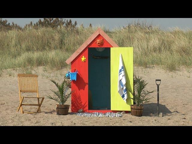 This Beach Hut has a HIDDEN SECRET
