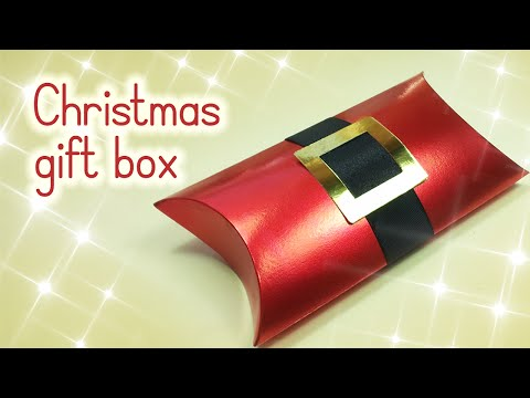 DIY Christmas crafts: Christmas GIFT BOX - Innova Crafts