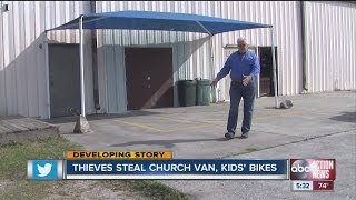 Thieves steal church