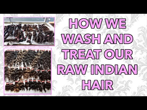 How to Wash Raw Indian Virgin Hair| Co-washing| Deep Conditioner| Revive Hair|