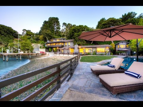 Family Waterfront Compound in Tiburon, California