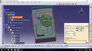 introduction à la FAO CATIA V5 usinage prismatic machining code G CNC (DARIJA)