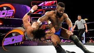 Cedric Alexander vs. Tony Nese: WWE 205 Live, Jan. 9, 2018
