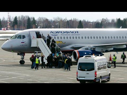 Суперджет Аэрофлота - Не взлетел с первого раза / Аэропорт Сочи
