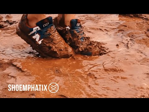 Extreme Cleaning Session of Dirt & Muddy New Balance ML574