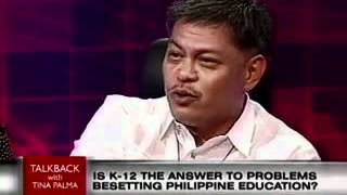 ANC Talkback | K+12: Answer to Problems Besetting Philippine Education 3/3
