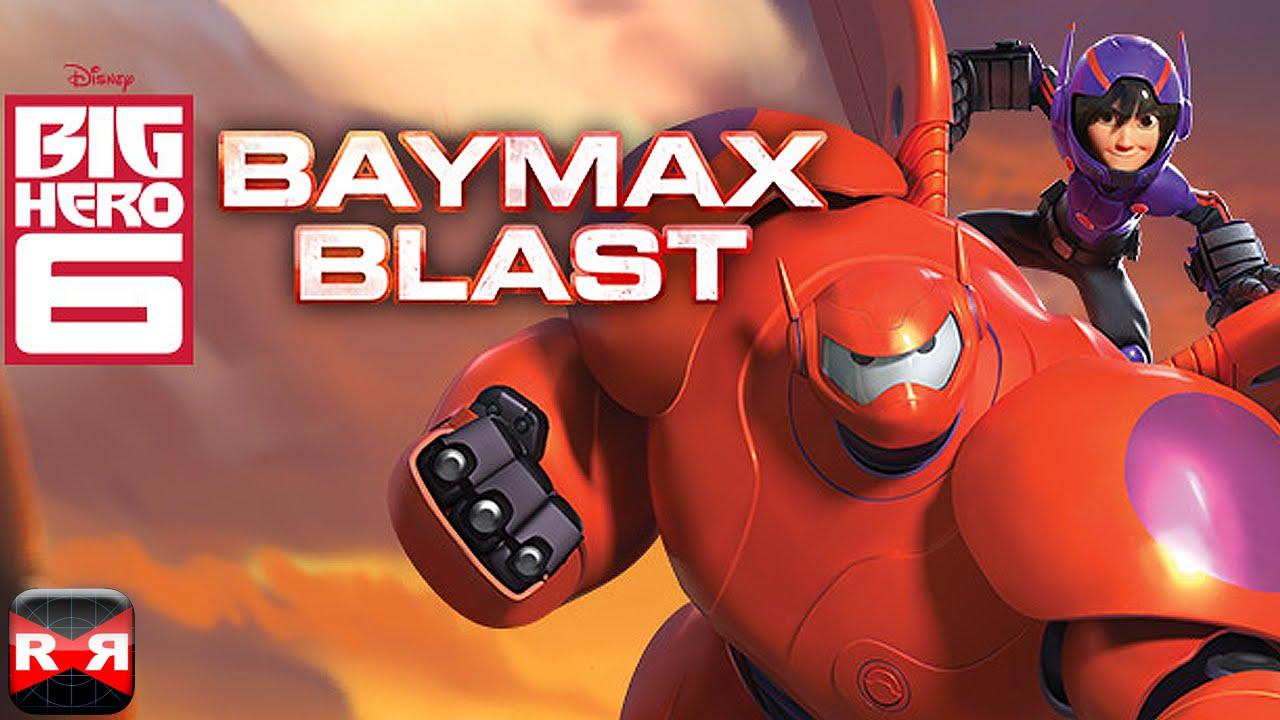 Big Hero 6 Baymax Blast By Disney Ios Iphone Ipad Ipod Touch