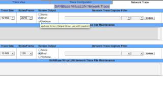 Capturing Wireshark Traces using the SANBlaze VirtuaLUN