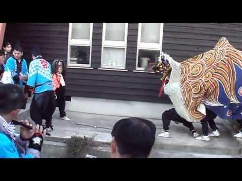 2013年 富山市古沢獅子舞4