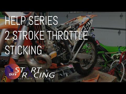 2 Stroke Throttle Sticking (FIX)