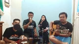 Gambar cover CINTA FATAMORGANA - KELVI Feat  EGIT (Dangdut Indramayu Cirebon)