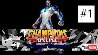 Champions Online Gameplay + Intro Nova #1