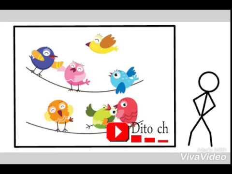 Lirik Lagu Anak - Burung Bernyanyi - Cipt. A.T. Mahmud