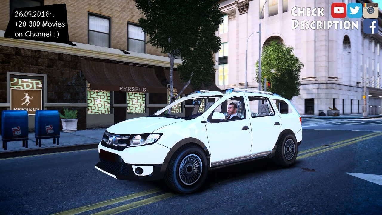 dacia logan mcv stepway 2014 gta world yt 20 200 movies youtube. Black Bedroom Furniture Sets. Home Design Ideas