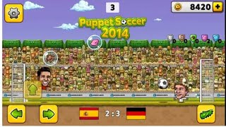 Winning the world cup with Germany-Puppet soccer 2014 gameplay#03