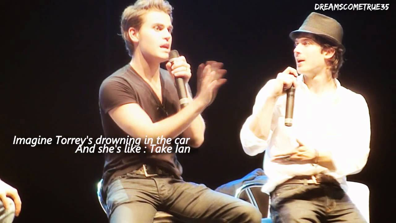 Ian Somerhalder & Paul Wesley - You've got a friend in me ...