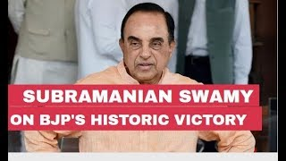 In conversation with Subramanian Swamy on BJP's victory in Lok Sabha Elections 2019
