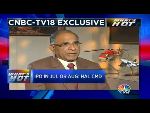 HAL IPO By August: CMD T Suvarna Raju
