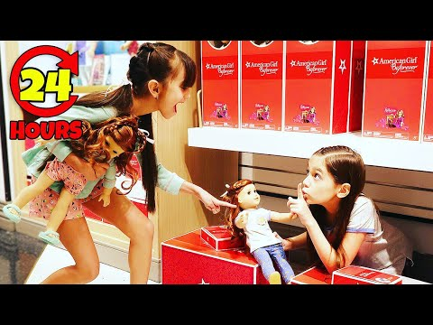 24 HOURS IN NYC WITH AMERICAN GIRL | Emily And Evelyn