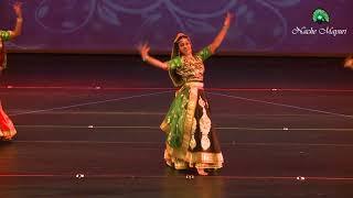 Ghoomar Dance performance by Mayuri & Team @ Nache Mayuri's Pal, Annual Dance Show 2018