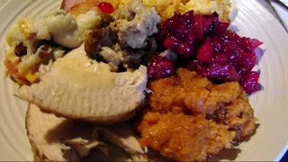 Gluten Free Thanksgiving Recipes Menu Vlog