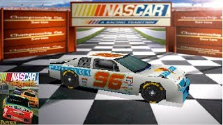 Playing The First EVER NASCAR Video Game (NASCAR Racing)
