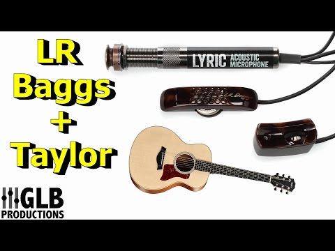 LR Baggs Lyric + Taylor GS Mini