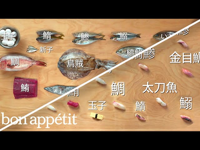 How to Make 12 Types of Sushi with 11 Different Fish | Handcrafted | Bon Appétit