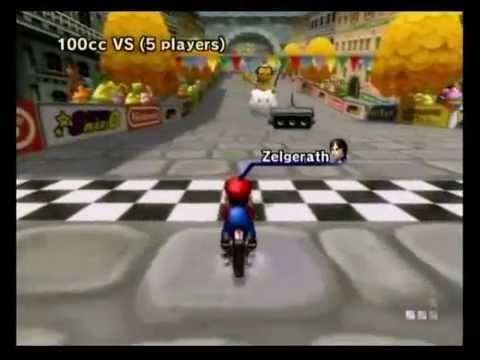 FINAL ONLINE RACE IN MARIO KART Wii (NINTENDO WI-FI SHUTDOWN)