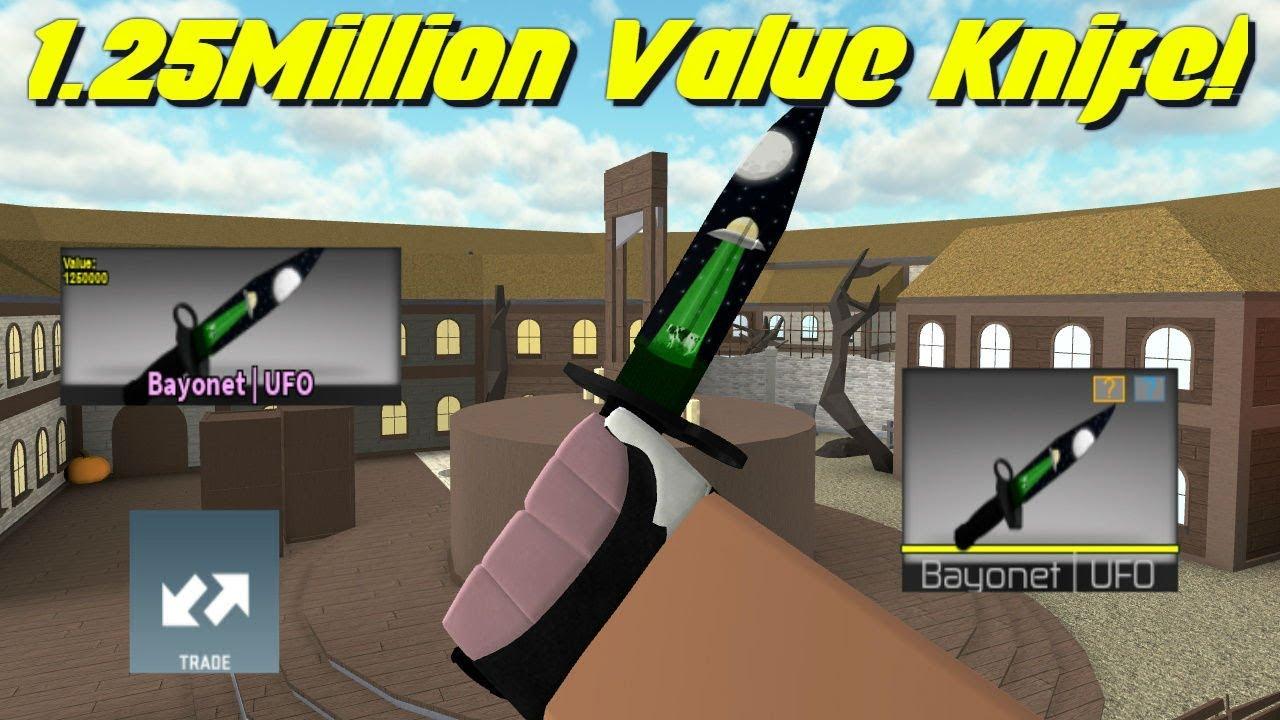 Most Expensive Cb Skin Bayonet Ufo Showcasing Youtube