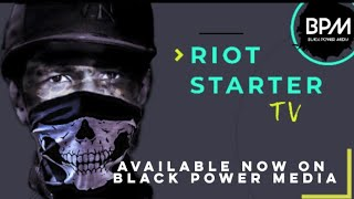 Brother J of X Clan Sets it Off on Riot Starter TV