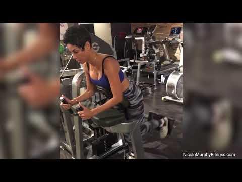Glute Kickbacks on Machine | Nicole Murphy Fitness