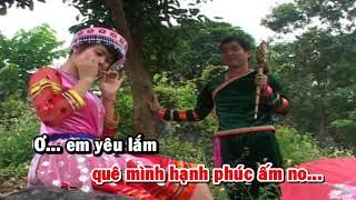 [HD] Karaoke Anh chiến sĩ công an về bản - ST: Huy Thông (Karaoke by Kgmnc)