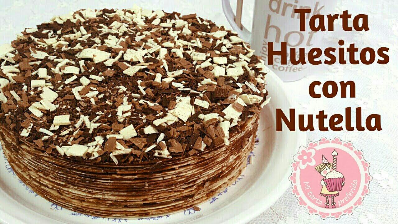 Tarta Huesitos Con Nutella Mi Tarta Preferida